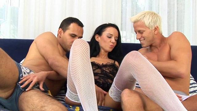 Gina Devine Threesome