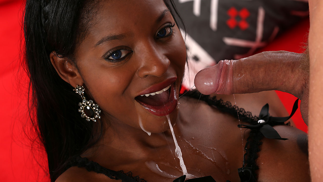 Ebony Cum Video 74